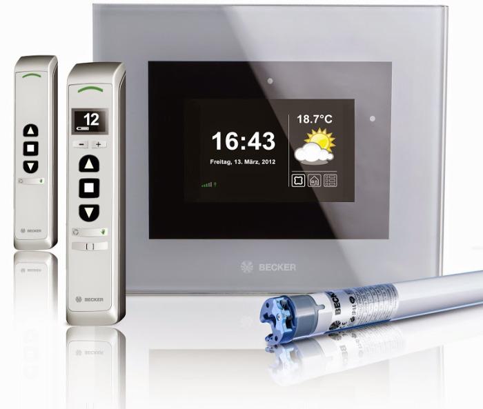 Gebeudesteuerung B-Tronic mit Tablet,Handy,und Funk.